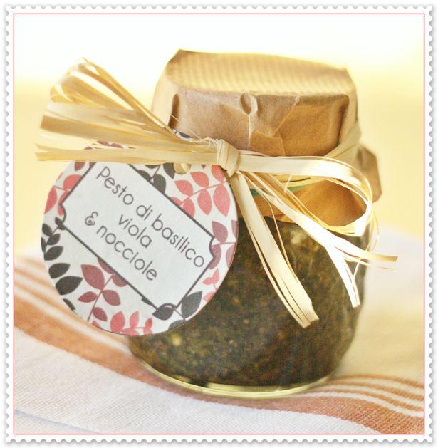 Pesto di basilico viola e nocciole 2
