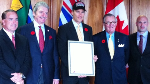 Vancouver Canadians Day with Mayor Gregor Robertson!