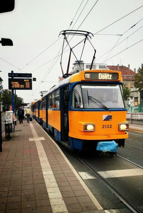 Straßenbahn Connewitz Kreuz