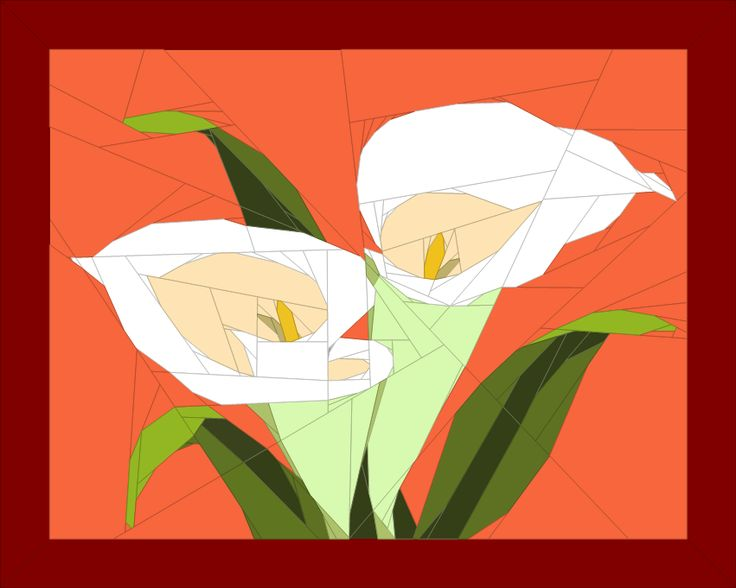 (7) Name: 'Quilting : Sewing instructions_Calla Lily