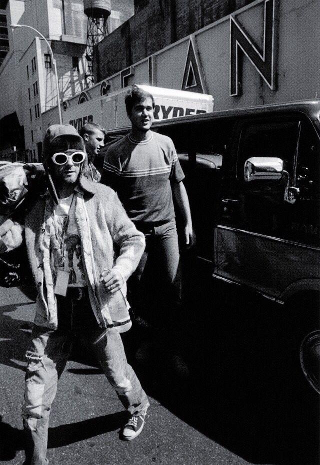 Kurt and Krist Nirvana