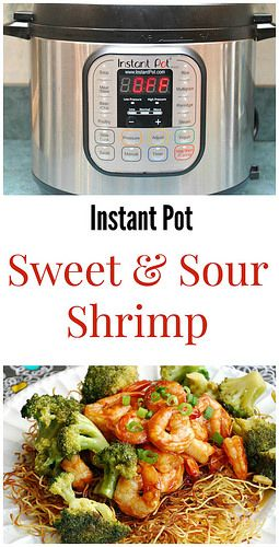 Instant Pot Sweet & Sour Shrimp has the perfect balance between sweet and sour. Serve over rice or crispy noodles for a meal the whole family will devour!   What's Cookin, Chicago?
