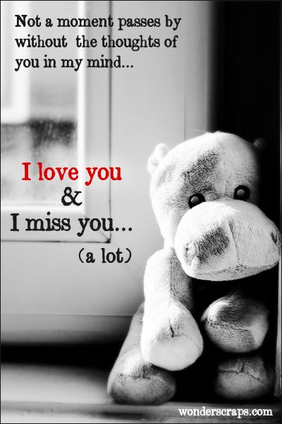 I Miss You Quotes Love: Cute Missing You #greetings