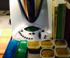 Recipe Sweet Potato, Sweet Corn and Spinach Puree by Brea walker - Recipe of category Baby food