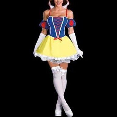 sexy fee prinses zin volwassen halloween kostuum (2stuks) - EUR € 18.17