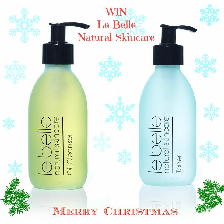 WIN Natural Oil Cleanser & Hydrating Toner From Le Belle Natural Skincare via Kelly Martin Speaks this Christmas #win #christmas