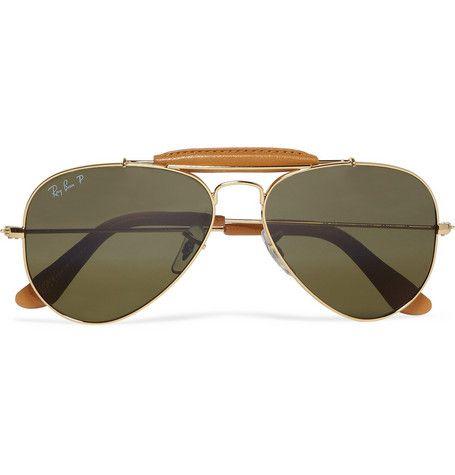 sunglasses aviator ray ban  Ray-Ban Outdoorsman Polarised Aviator Sunglasses