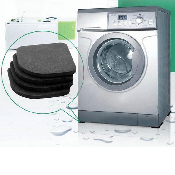 4 unid/set Refrigerador Anti-vibración Pad Mat Para Lavadora Choque Pads Esteras antideslizantes Conjuntos De Baño multifuncional Caliente