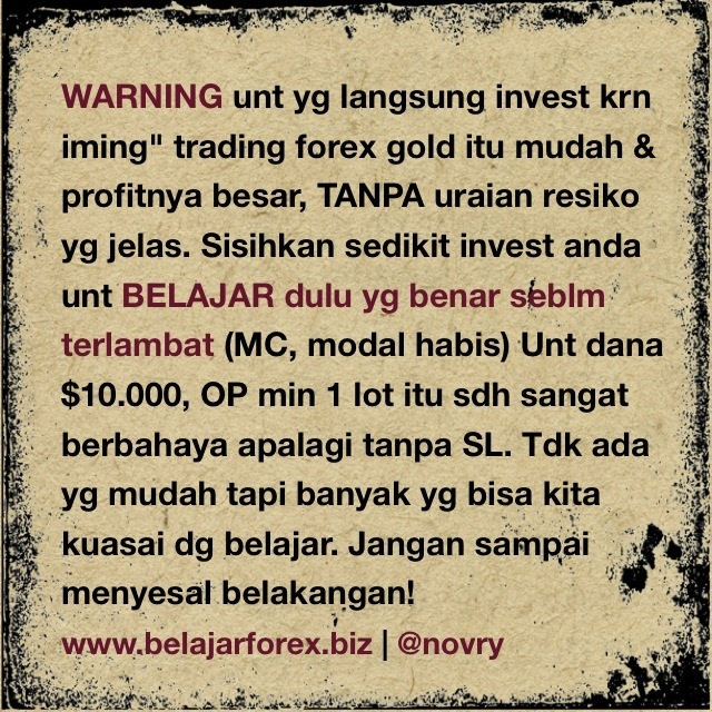 1 lot gold forex