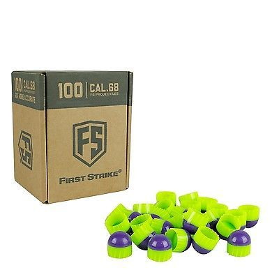 Paintballs 16049: Tiberius Arms First Strike Paintballs Purple/Green Shell/Green ... Free Shipping BUY IT NOW ONLY: $50.93