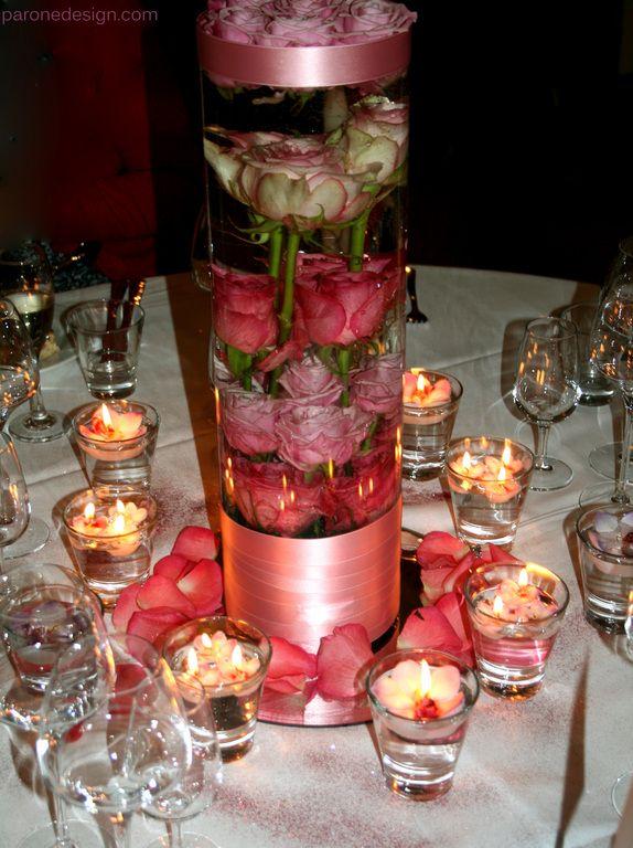 English roses in the water. #pöytäkoristelu #centerpiece #pöytäkukat #hääkenraalit #weddingflower #pink