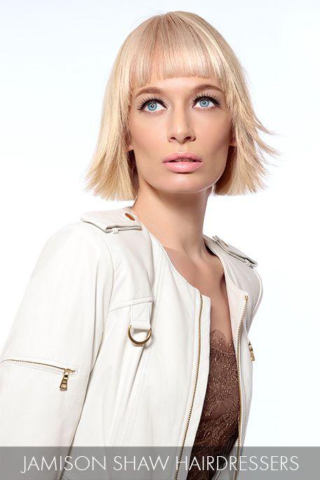 Стрижка для блондинки 2015