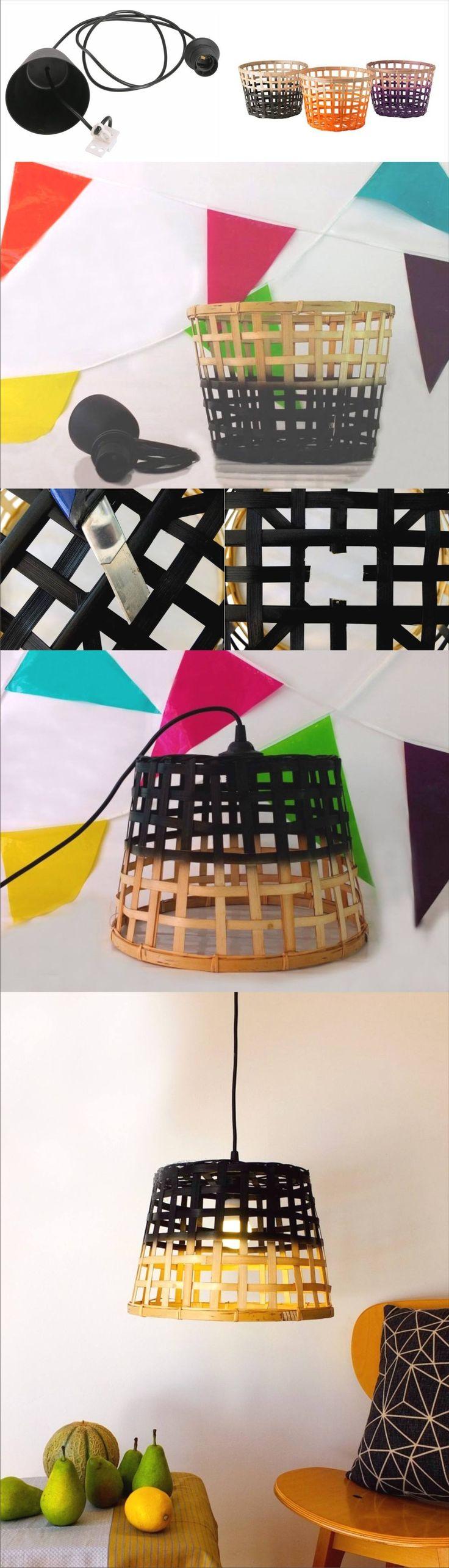 Lámpara Ikea Hack - befrenchie.fr - DIY Ikea Hack Lamp