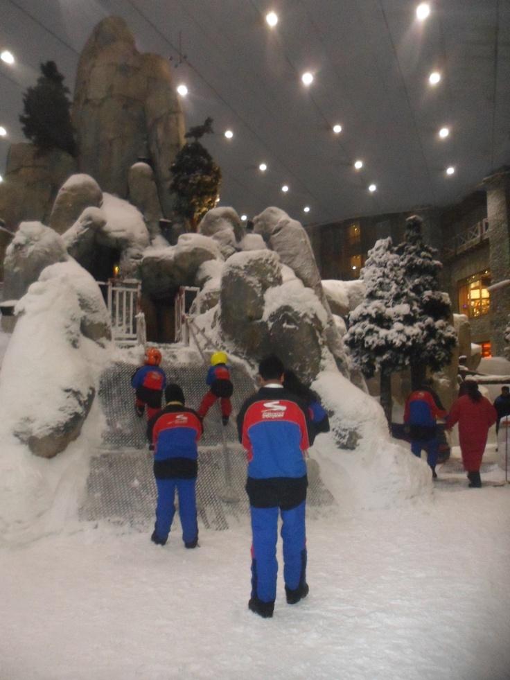 Het snowpark voor de kinderen #NHTV #3MTT