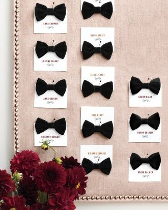 """See the """"Tie One On"""" in our Plush Hour: 8 Ideas for Using Velvet in Your Wedding Décor gallery"""
