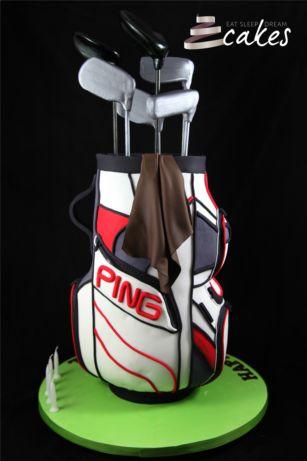 3D PING Golf Bag - Eat Sleep Dream Cakes