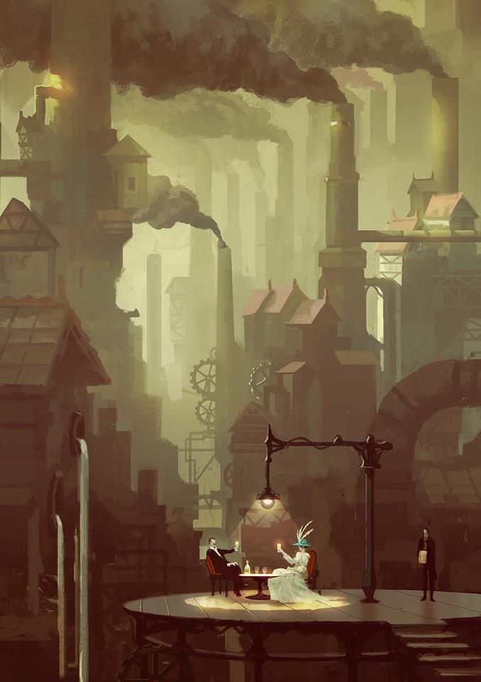 Steampunk - illustration