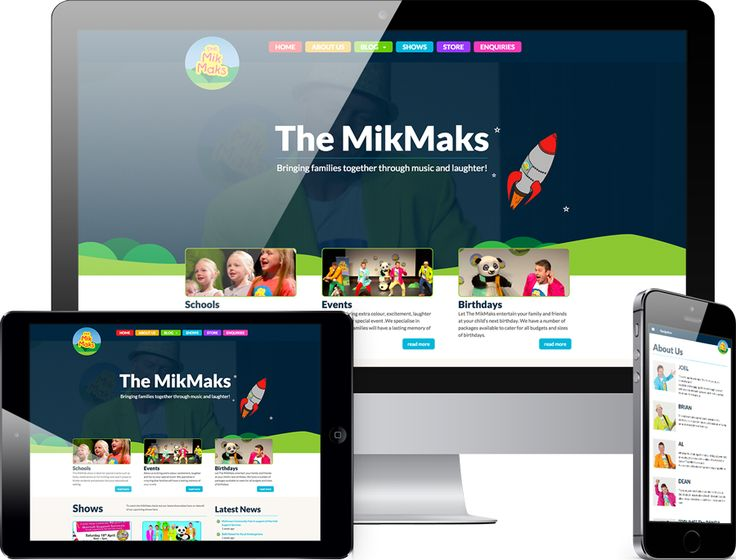 The Mik Maks NEW website with Kochies Business Builders-KBB 2015