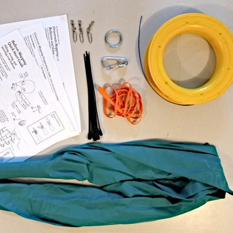 "Once assembled, this kit -- developed by community researchers from the Public Laboratory for Open Technology and Science -- enables you to collect your own aerial photos from up to 1000 ft. Using the open source MapKnitter web-based software, you can stitch the resulting images into a web-viewable map -- your own ""counter-cartography"" Google Maps. Use it to tell a different story from the ""official"" map (BP oil spill, wetlands, Occupy #s)"