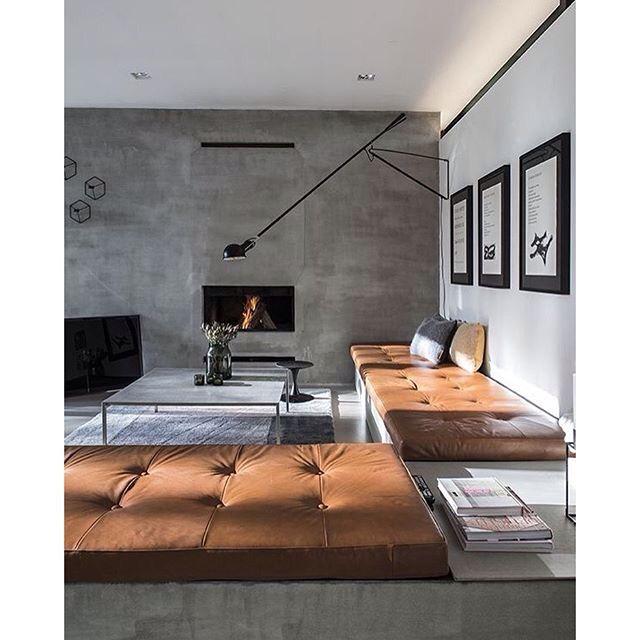 minimalistisch modern pflegeleicht und super easy mit allem zu kombinieren beton liegt bei innenarchitektur und wohnaccessoires im trend - Modernes Wohnzimmer Des Innenarchitekturlebensraums