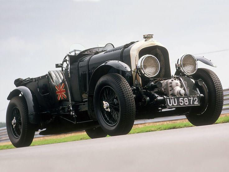 Véhicules 1930 Bentley 4 ½ Litre Blower  Fond d'écran