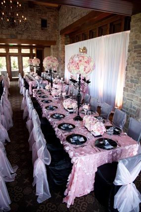 Parisians Baby Shower Pink And Pink Petals On Pinterest