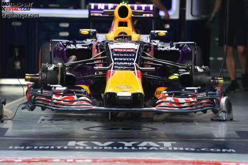 RB11 von Daniil Kwjat (Red Bull)