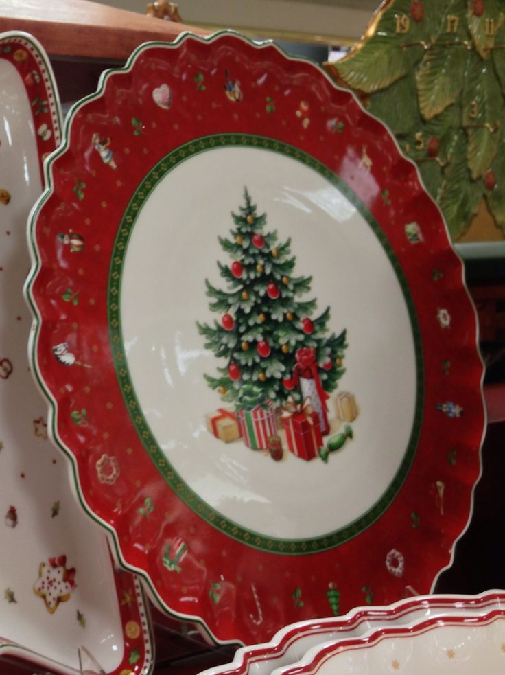 17 best images about christmas dinnerware on pinterest - Villeroy boch vajillas ...