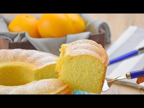 Ciambellone all'acqua all'arancia - Ricetta di Fidelity Cucina - YouTube