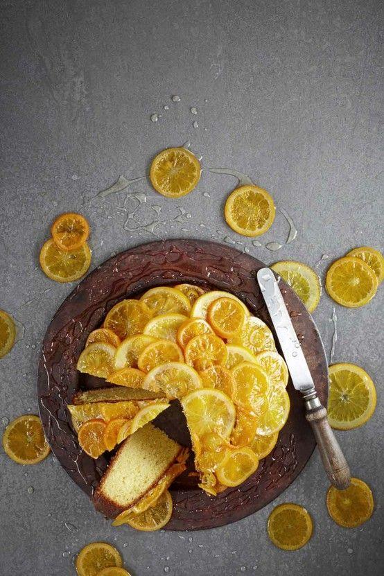 Orange, almond and olive oil cake || Citrus