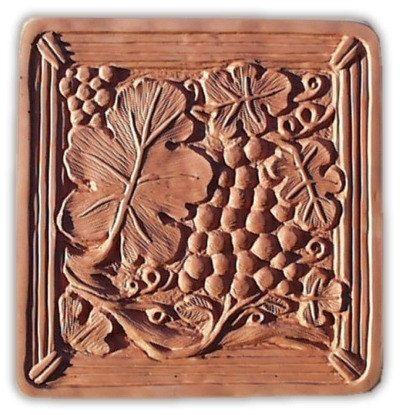 Grape Arbor Stepping Stone Mold by SaharasSupplies on Etsy, $24.95