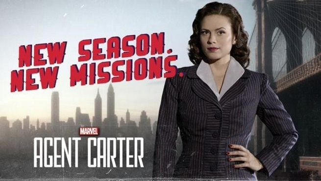 Agent Carter season 2! Coming out January 19th!!!