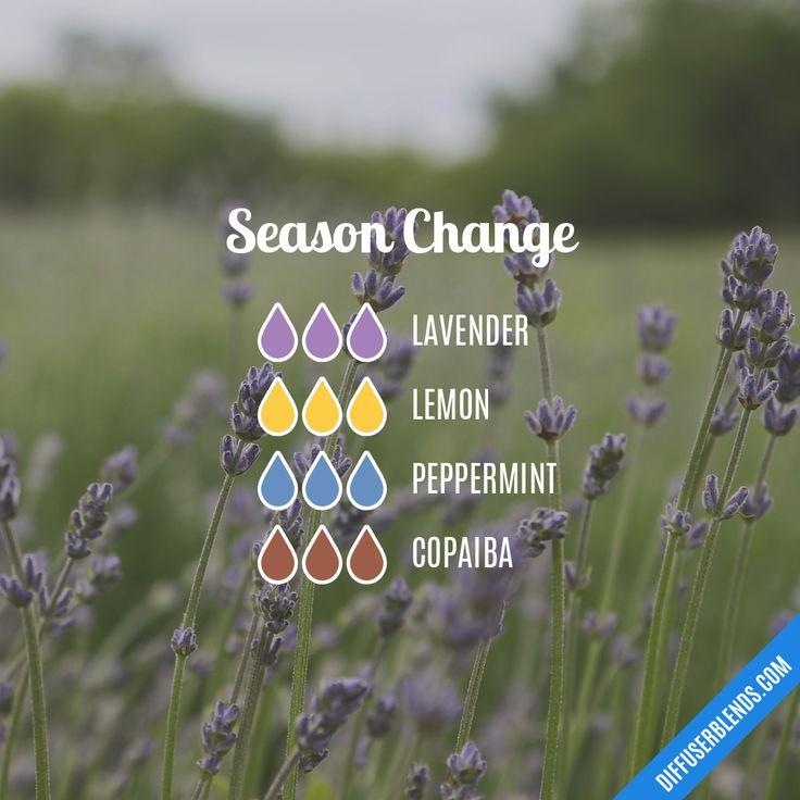 Blend Recipe: 3 drops Lavender, 3 drops Lemon, 3 drops Peppermint, 3 drops Copaiba