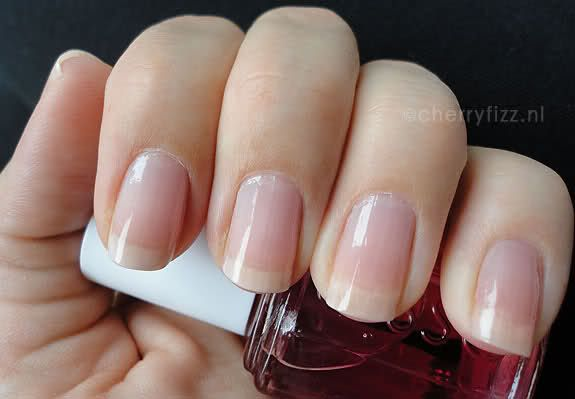 """Essie """"Cherry Pop"""" - I haven't tried the Essie one but it looks like a dupe for Dior Nail Glow yay."""