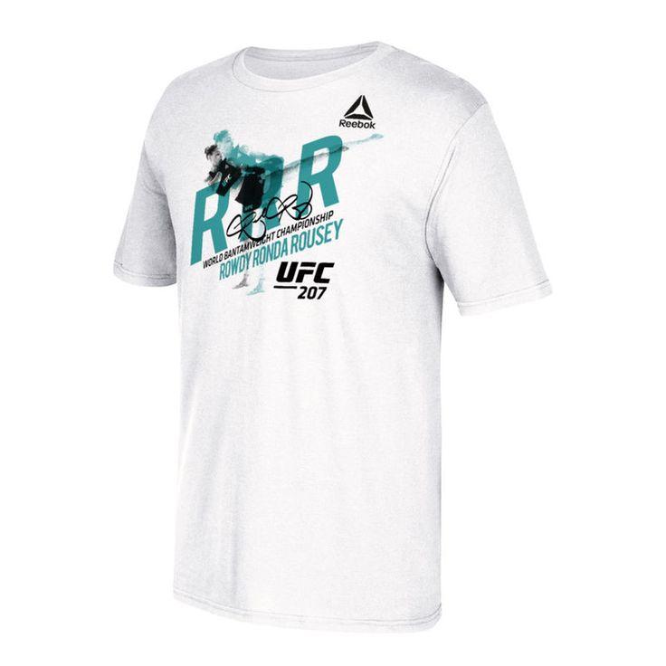 Ronda Rousey Reebok UFC 207 RRR T-Shirt - White