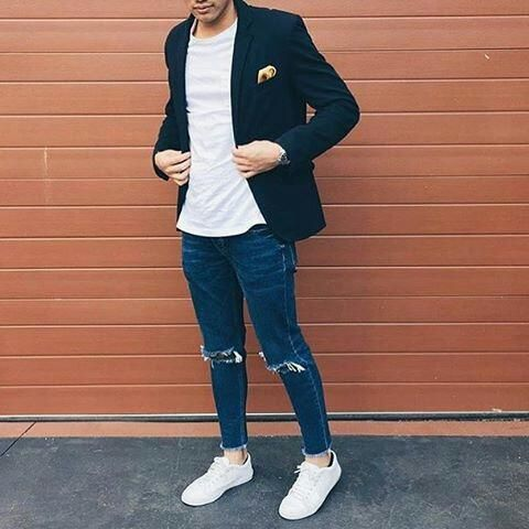 how to wear white t shirt this winter.. #mensfashion #style
