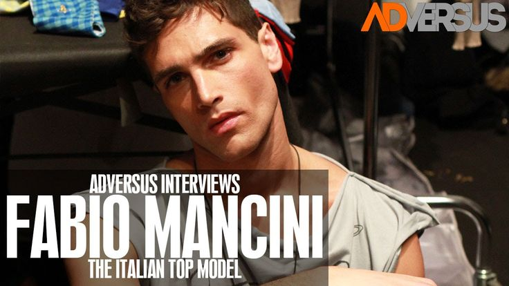 Fabio Mancini - new video interview of the italian top model Fabio Mancini