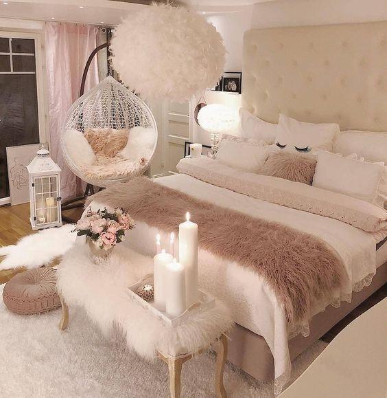 27 Kleine Schlafzimmer Ideen Dekor, um größer au…