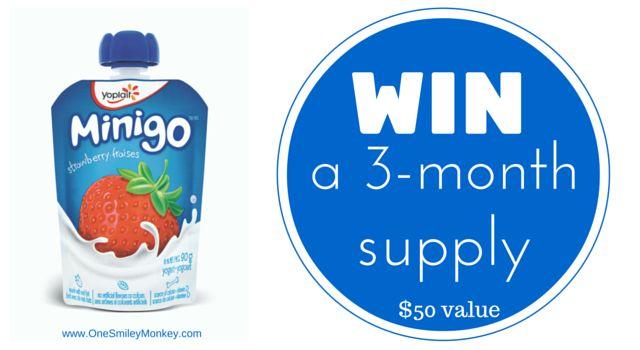 Introducing Yoplait Minigo Yogurt Pouches {Giveaway}