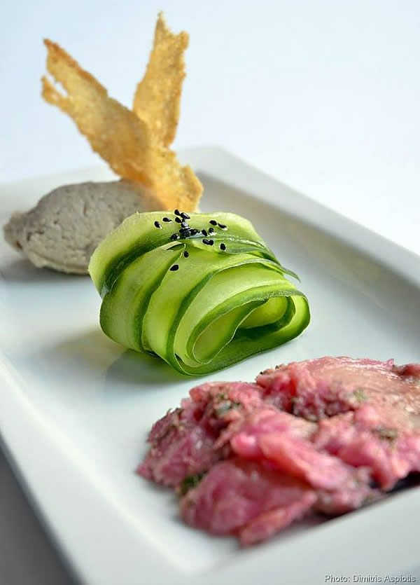 French fine dining food picture fine dining amsterdam for Fine dining food