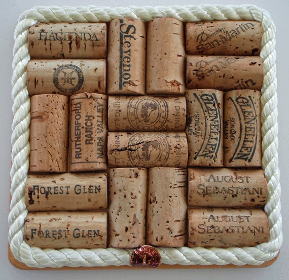 17 best images about crafts i 39 d like to try some day on for Wine cork patterns