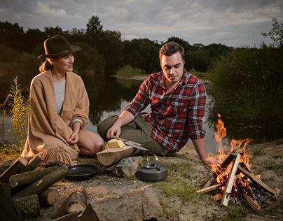 """Mein Lieblingsprojekt in diesem Jahr.  Check out new work on my @Behance portfolio: """"Campfire"""" http://be.net/gallery/45554079/Campfire"""