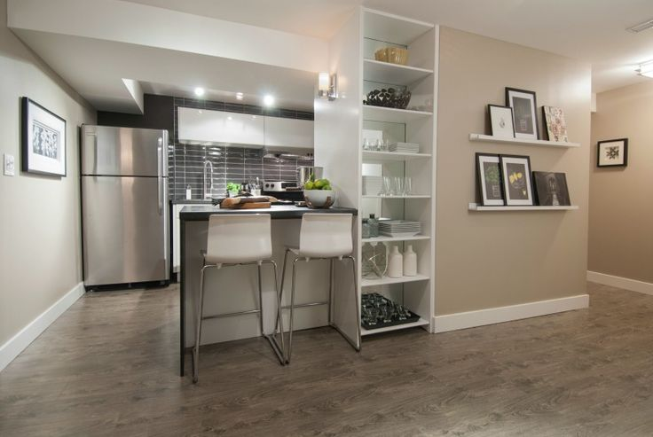 Small basement kitchen, Income Property, HGTV #LGLimitlessDesign & #Contest