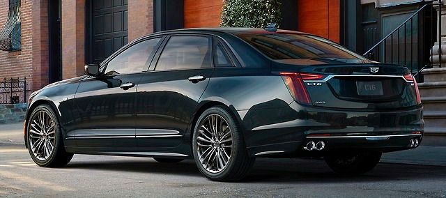 Cadillac Ct6 V Sport 2019 Twin Turbo V8 550hp Cars Pinterest