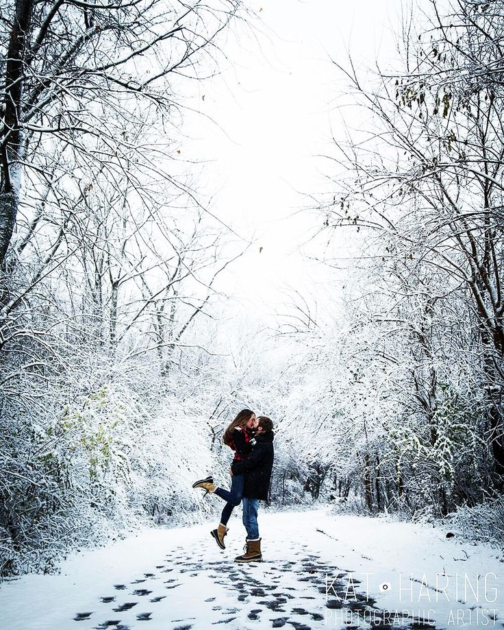 Winter Engagement Photos • Kat Haring Photographic Artist