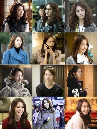 少女時代ユナ、ドラマ中に変化した4段階のヘアスタイル写真を公開!