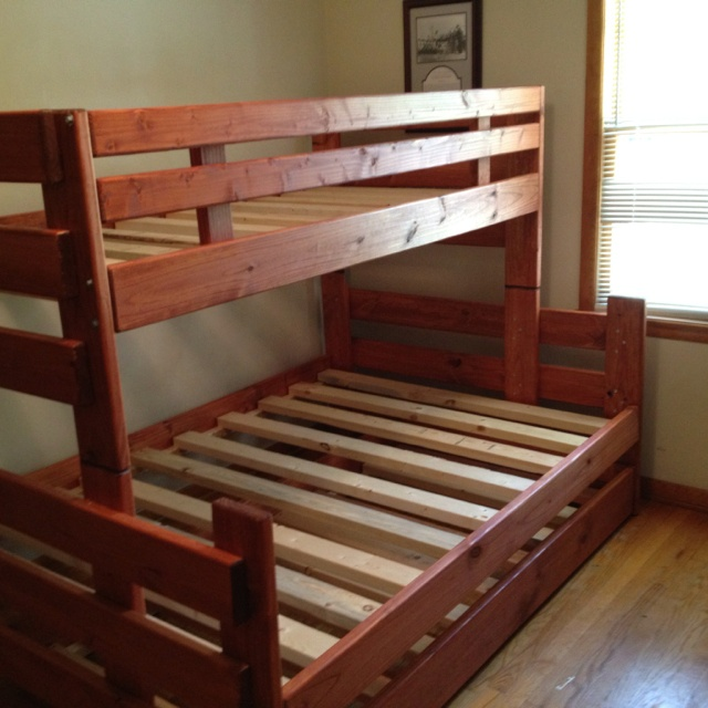 54 best images about bunk beds on pinterest bunk bed for Stackable bed plans