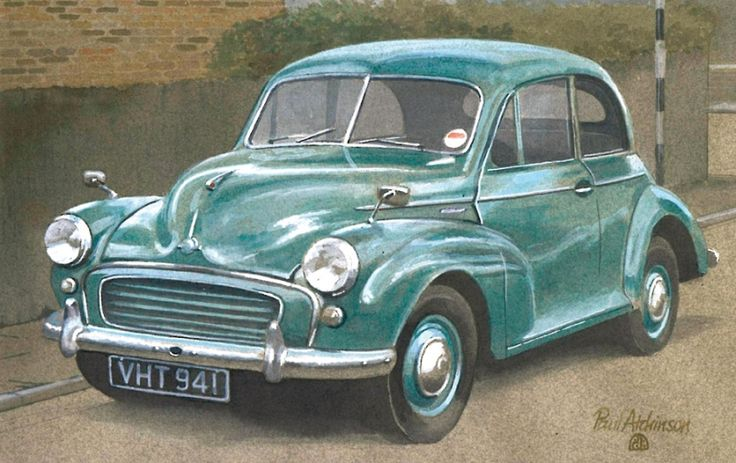 1956 Morris Minor MkII by Paul Atchinson