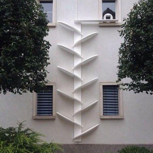 same ladder better zoom catladder katzenleiter kattrappa katzentreppe kattentrap. Black Bedroom Furniture Sets. Home Design Ideas