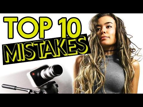 10 Common Mistakes Made by New Filmmakers
